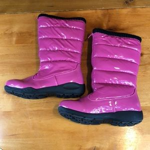 Tundra kids puffy fuchsia